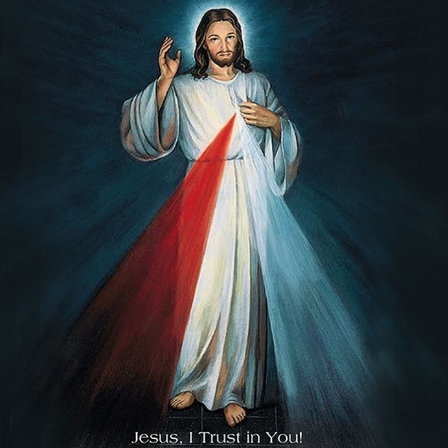 "Blessed Divine Mercy Sunday! ❤️💙 ""Look into My Merciful Heart and reflect its compassion in your own heart and in your deeds, so that you who proclaim My mercy to the world may yourself be aflame with it."" - Diary of St Faustina, par.1688  #divinemercy #divinemercysunday #jesusitrustinyou #stfaustina #mercy #compassion #jesus #catholic #diaryofstfaustina"