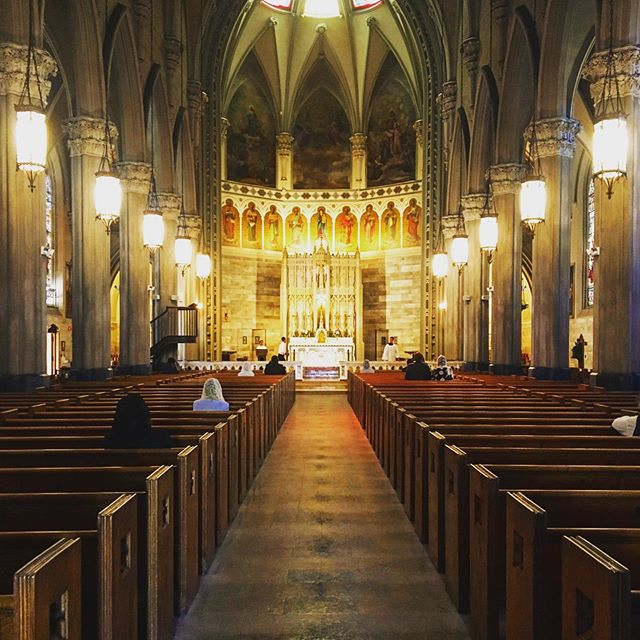 Yesterday, seven of us NCC'ers made our way down to Providence to experience the beautiful, traditional Latin Mass at the Church of St. Mary on Broadway. Highly recommend for anyone who is curious about experiencing this reverent celebration!  #catholic #Latinmass #catholicchurch #HolyMass #catholicyoungadult #tridentinemass #highmass
