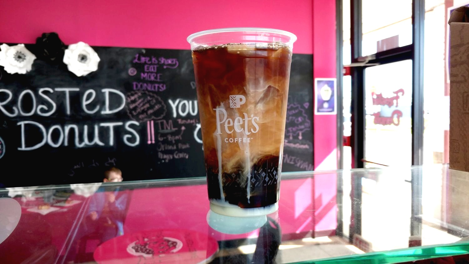 Black Tie Iced Coffee