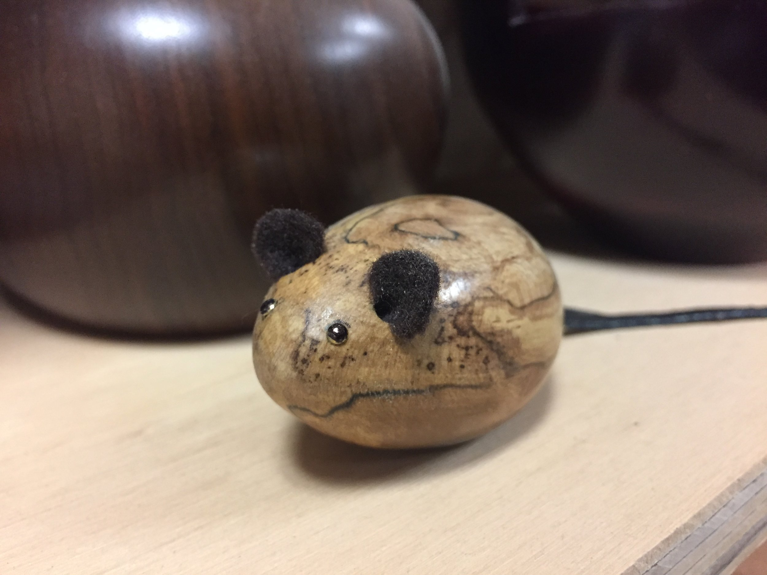 Small Wooden Mice