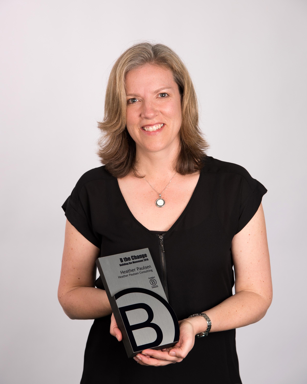 Heather Paulsen B Corp Award