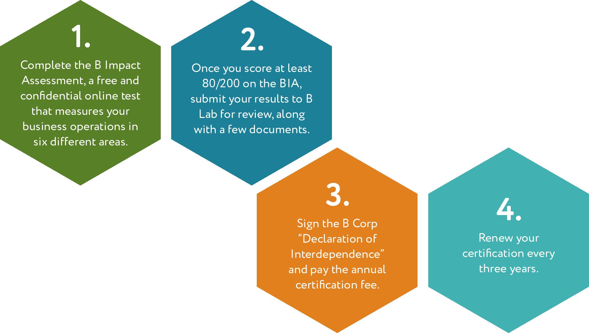 B Corp Certification Process