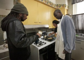 The Interfaith Committee for Detained Immigrants operates the Marie Joseph House of Hospitality for Men in Cicero, Illinois, to provide food and shelter for men as an AAP.