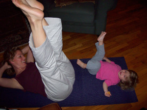 stress relief yoga busy parents