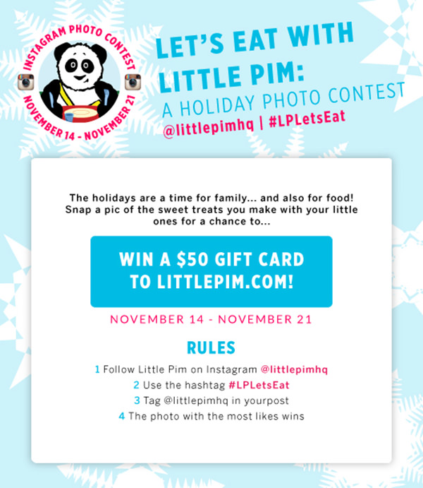 instagram holiday contest