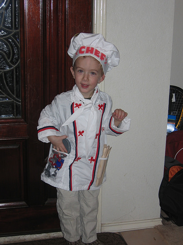 chef diy costume