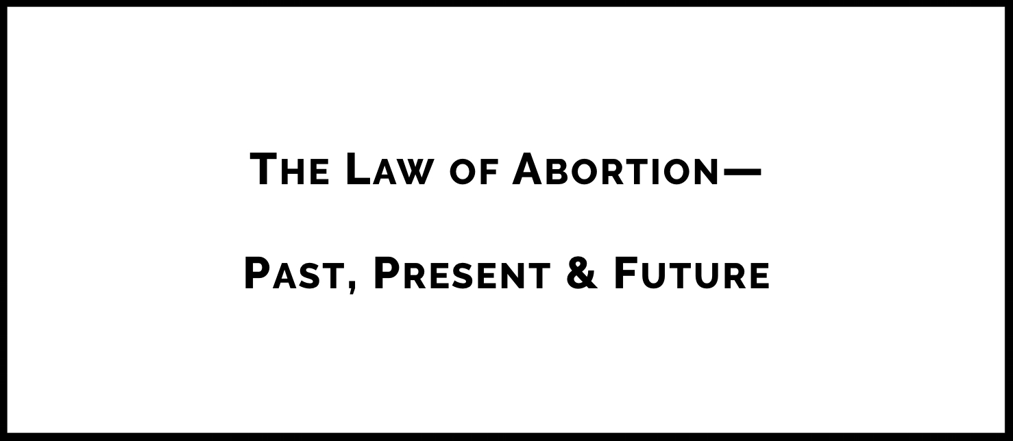 Why do American courts continue to consider abortion cases? Why haven't issues related to abortion been resolved? In this lecture, Dr. Cantor walks participants through the history of abortion in the United States. She traces the current case law from the Supreme Court of the United States and offers thoughts on what the appointment of the most recent Justice might mean for the future.