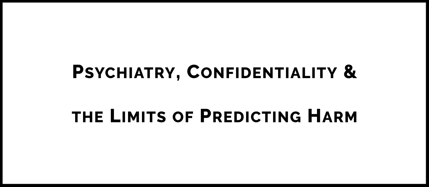 In 1976, the California Supreme Court weighed in on the duty of psychiatrists and other providers of mental health care to breach confidentiality and warn an intended victim and the police of specific and foreseeable harm. While health care providers were required to report, they were not expected to have a crystal ball. However, in  Volk v. DeMeerleer , the Supreme Court of Washington State recently took a more onerous approach to predicting a patient's potential for violence, seemingly expanding the rule of  Tarasoff  beyond recognition. Dr. Cantor explains the change and predicts what the future may hold for the duty of confidentiality.