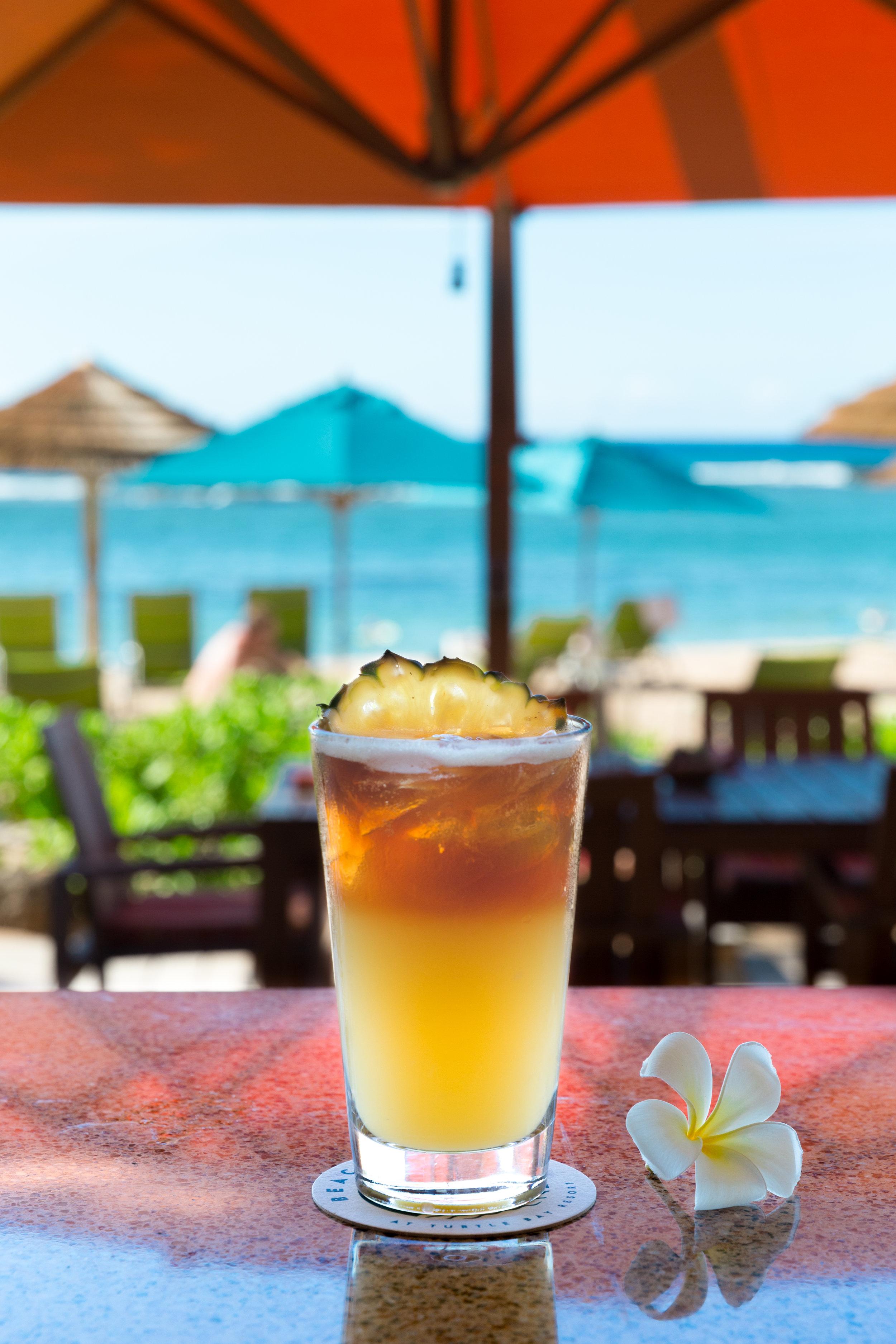 Roy's Beach House_Beach House Spiced Mai Tai – Koloa Spiced Rum, Ginger, Pineapple, Koloa Dark Rum Float__pc Craig Bixel_07-2017.jpg