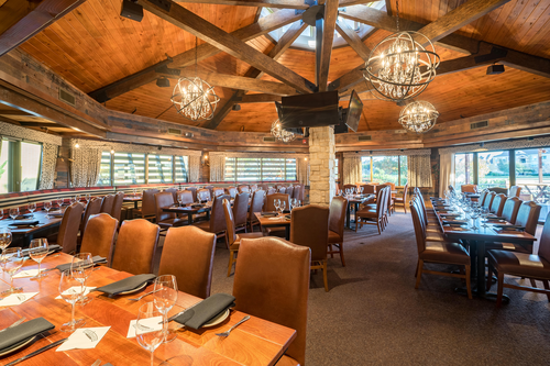 The Eldorado Room at The Ranch can accommodate up to 100 guests