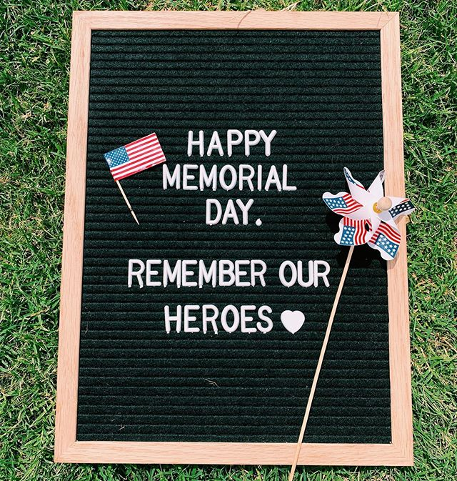 Happy Memorial Day! Today we celebrate those who lost their lives protecting our beautiful country. We thank them for giving the ultimate sacrifice to keep us safe each and every day.  #memorialday #whiskeycakelascolinas  #rememberourheroes