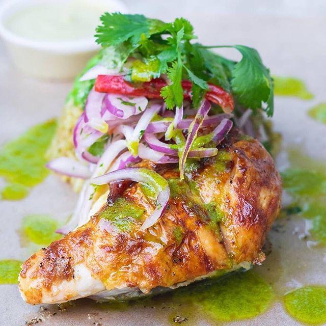"""Not your average """"chicken dinner"""". #arrozconpollo #bravazorotisserie"""