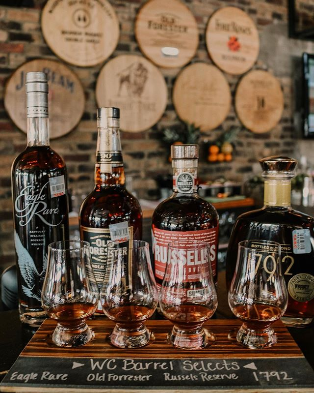 Today is National Bourbon Day!  Come celebrate one of our favorite days of the year with us!  We are offering a Whiskey Cake Barrel Select Flight for only $12!  These are expressions you can't get anywhere else!  #nationalbourbonday #whiskeycake #planohappyhour #stufftodoindallas #planoeats