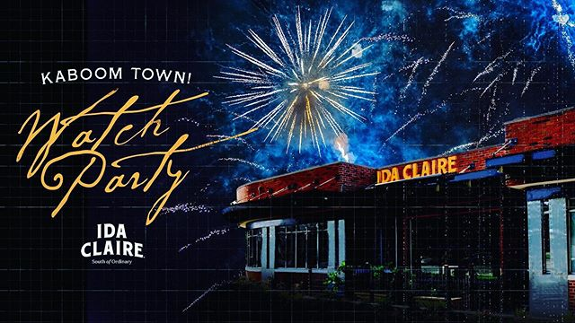 Join us on Ida's patio for our Kaboom Town watch party!! 🇺🇸Kick back and enjoy the firework show with live music and happy hour all night long!! Tickets cost $25 a person and include a reserved seat on the patio, valet parking, and a welcome cocktail! Fireworks start at 8:33 pm but arrive no later than 6:30 pm to grab your table! Email Kiley.sage@fbrest.com to purchase your tickets! Also call us if you have any questions! (214) 377-8227