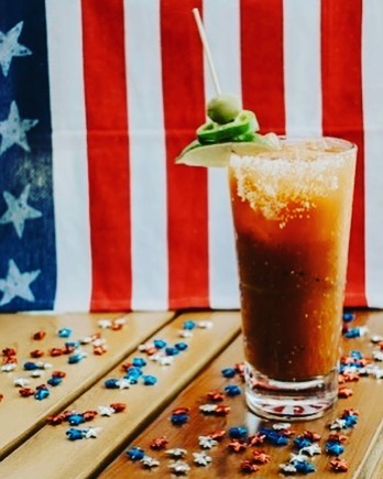 Happy Independence Day! Here at Whiskey Cake, we are beyond proud to be American and are so grateful to all of the service men and women who have fought for our freedom! Stop in today for a Bloody Mary to celebrate! 🇺🇸 #whiskeycakelascolinas #irvinglunch  #landofthefree #homeofthebrave #4thofjulylunch #redwhiteandblue