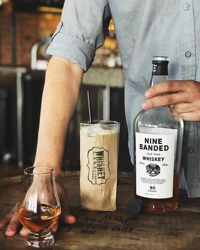 Our new friends, @ninebandedwhiskey , are taking over our bar features this week! Drop in for a pour of this creative blend of hand selected whiskeys or try it in our feature cocktail, Old Town Tea.  For you whiskey connoisseurs, we're hosting Tom Parker, Brand Ambassador, for a tasting tomorrow July 16th. Join us at 6PM to learn more about this new whiskey from Austin, TX. • • • • #whiskeycakeokc #wcokc #ninebandedwhiskey #weeklyfeature #drinkokc #drinklocal