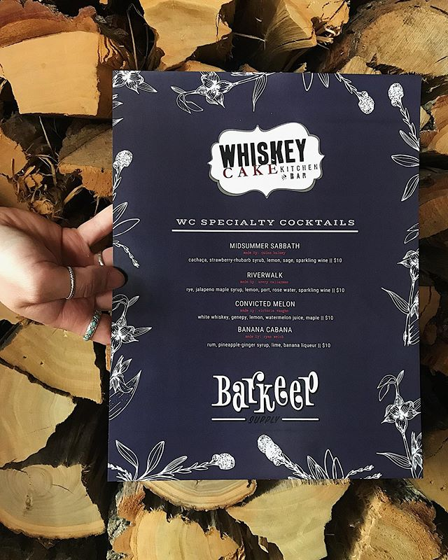 COUNTING DOWN THE MINUTES until we takeover @barkeepokc !  We're almost ready, are YOU?!? • • • • #whiskeycake #wcokc #barkeep #barkeepokc #drinklocal #shopandsip #midtownokc