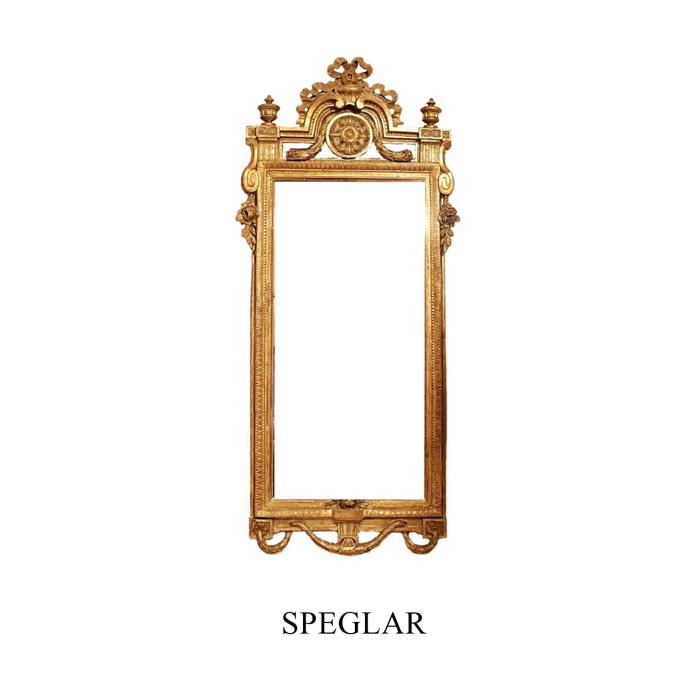 Speglar till salu