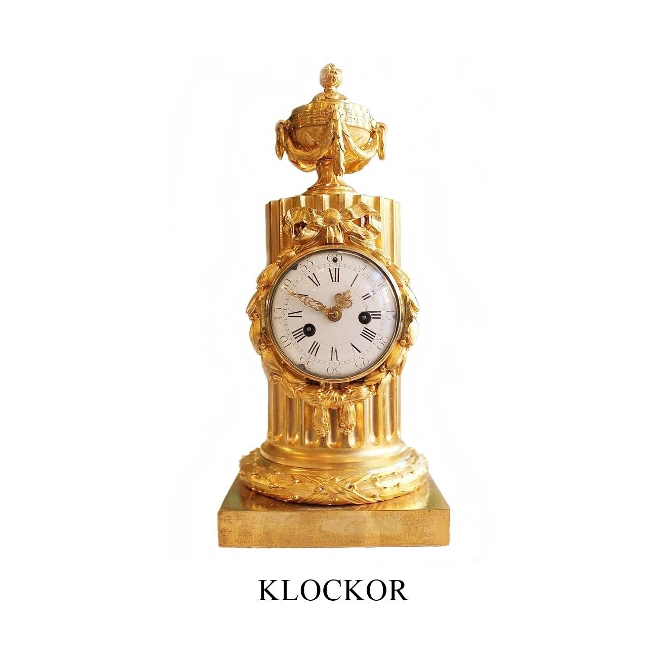 Klockor till salu