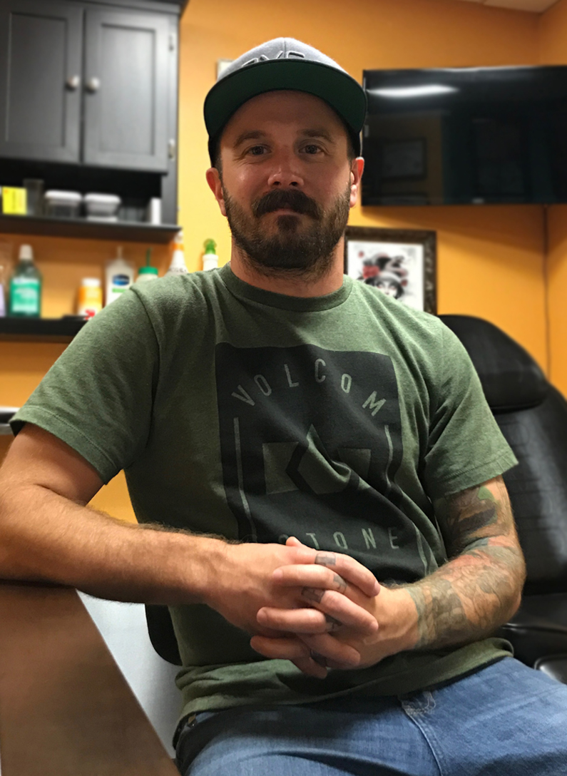 Scott James - Piercer / ManagerMondays - Wednesdays