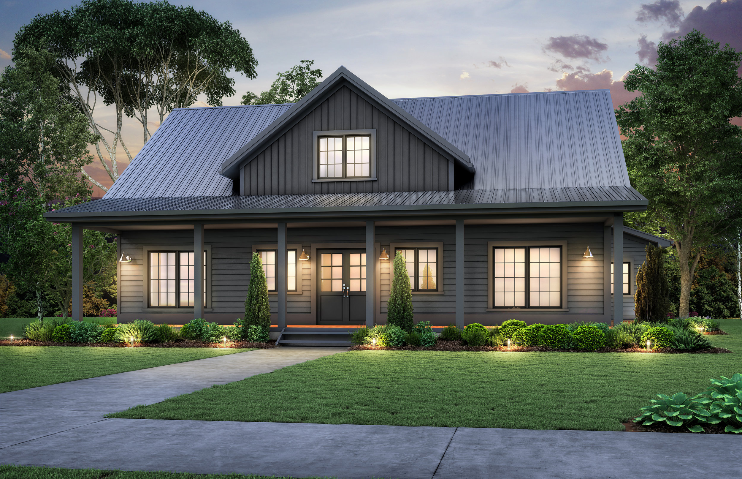 CUSTOM HOME | MODERN FARMHOUSE