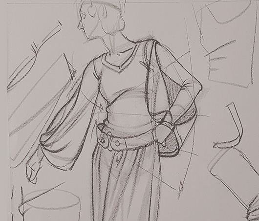 Costume Drawing Fundamentals -