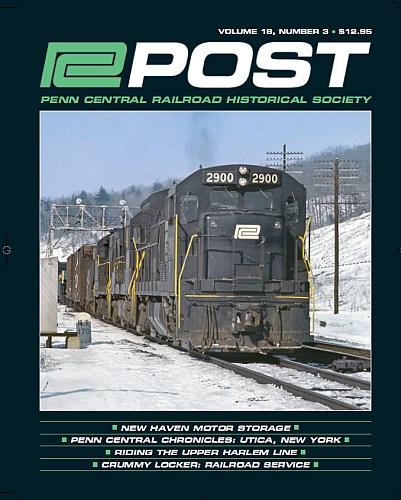 New Haven Motor Storage  Penn Central Chronicles: Utica, New York  Riding the Upper Harlem Line  Crummy Locker: Railroad Service