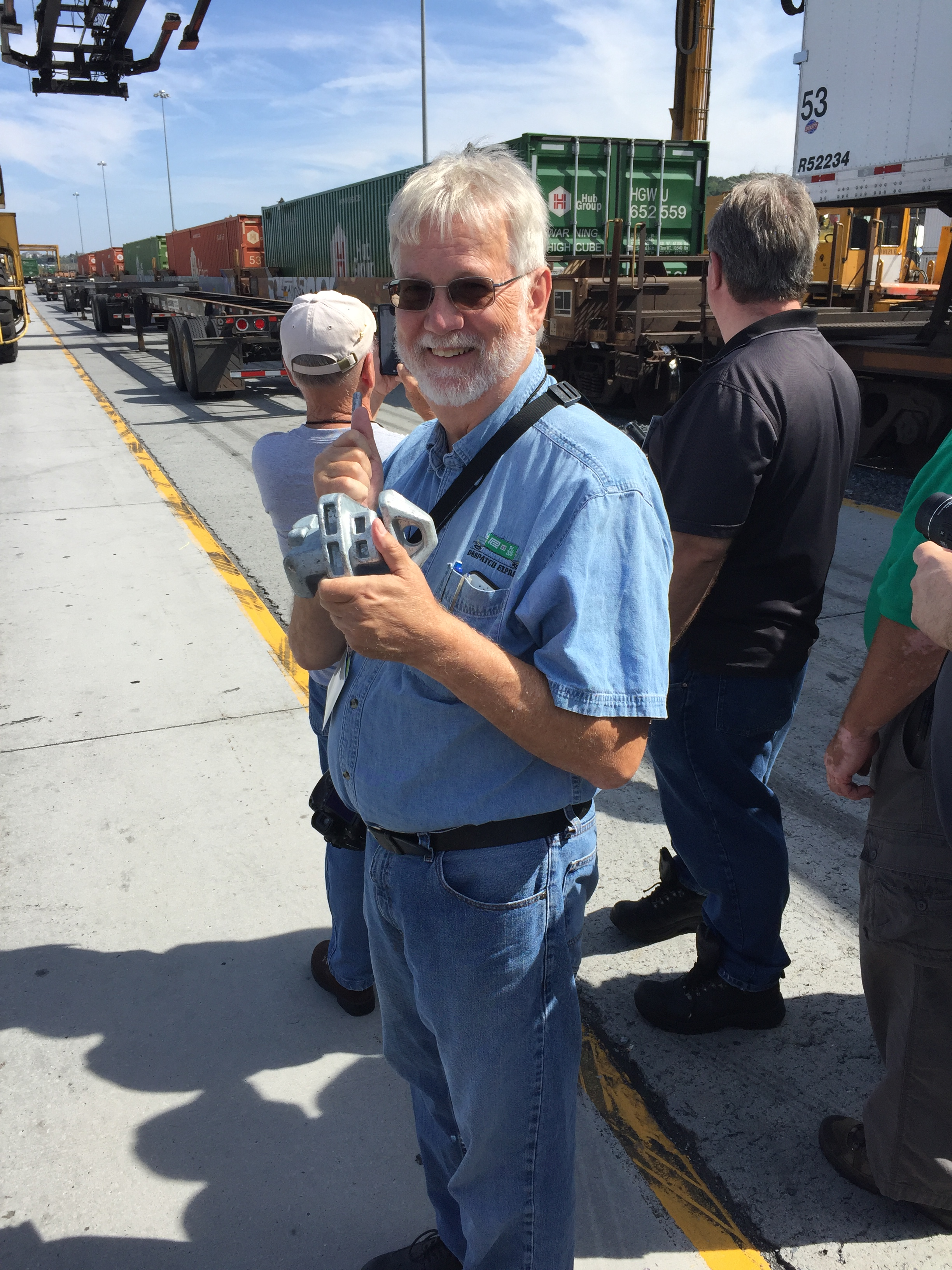 Jim Hebner and an IBC