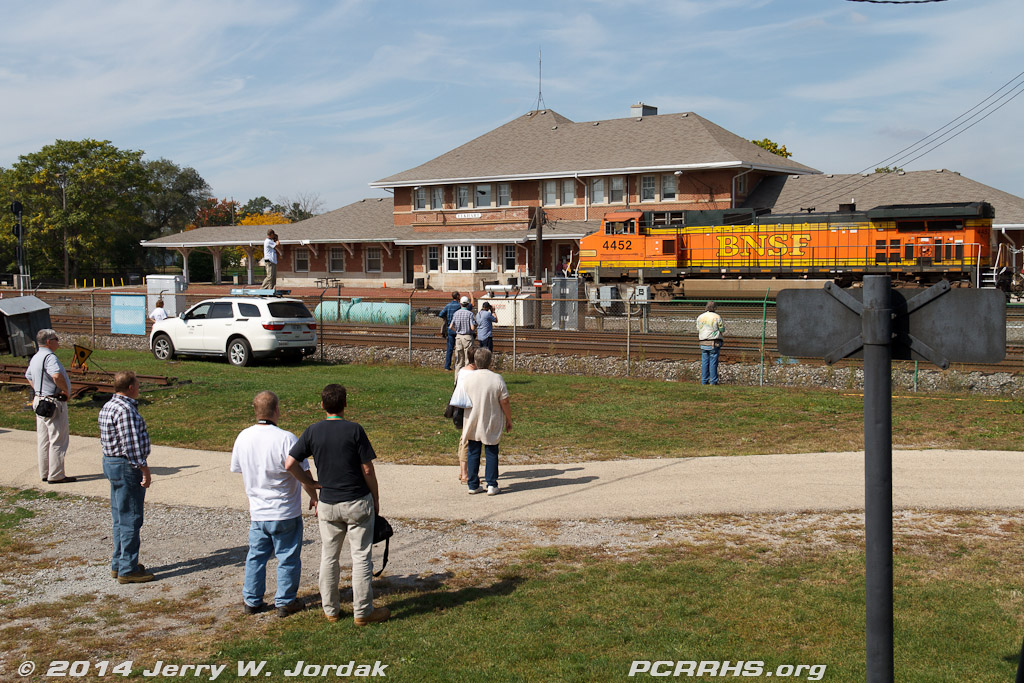 Railfanning at the Elkhart Depot on Saturday afternoon