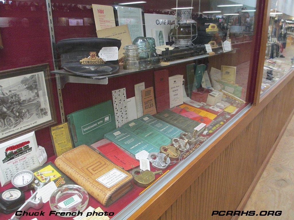 PC railroadiana at the Medina Railroad Museum