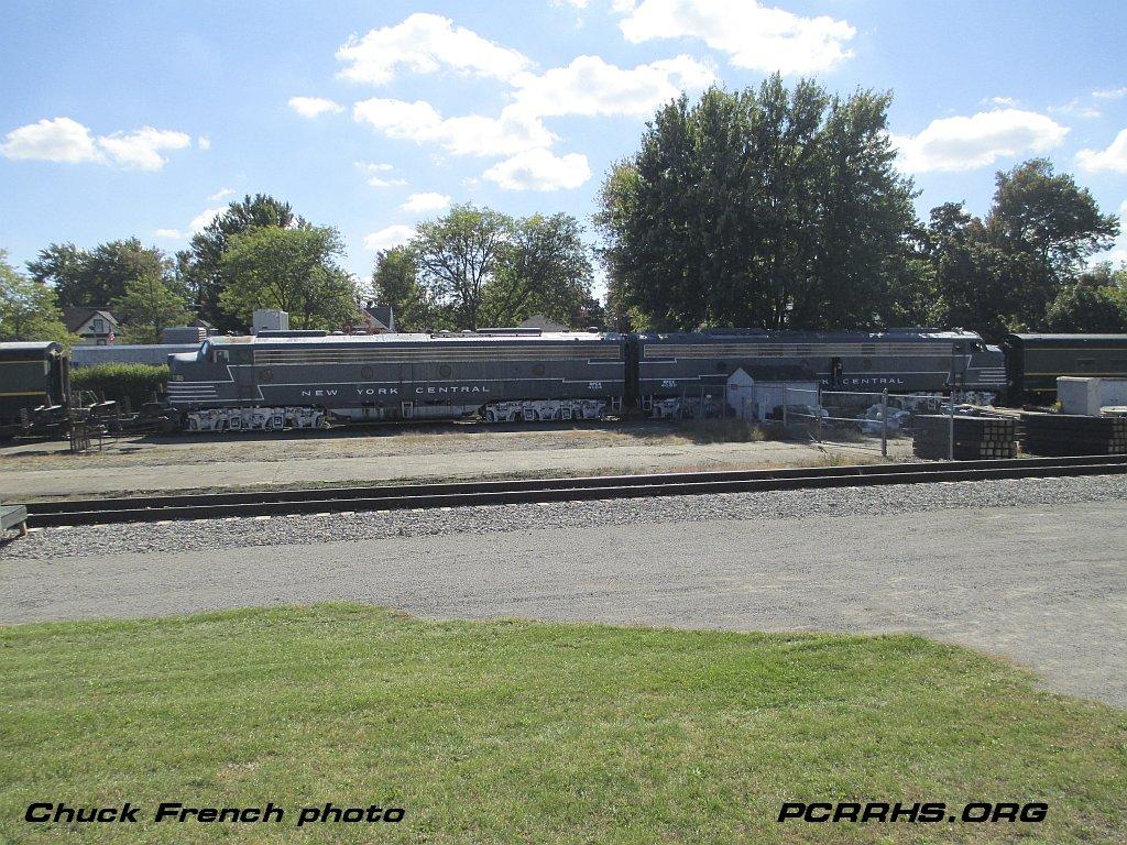 Medina Railroad Museum's restored NYC E8s