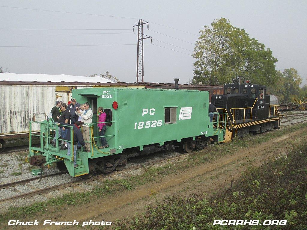 PC 18526, R&GV Museum's N11 transfer caboose