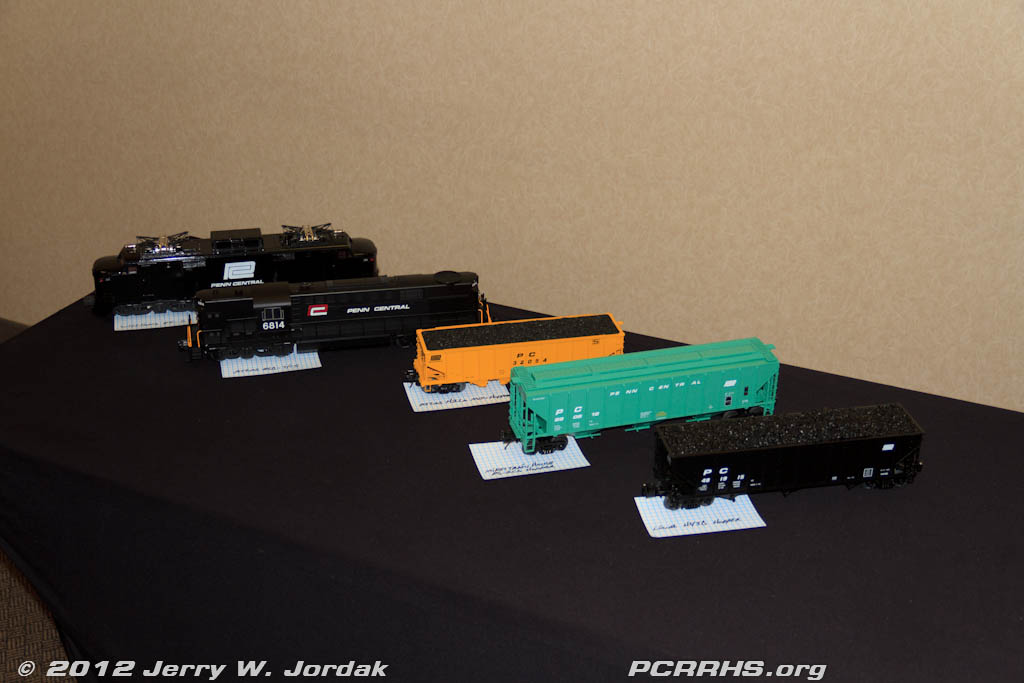Herb Brown's O scale models on display