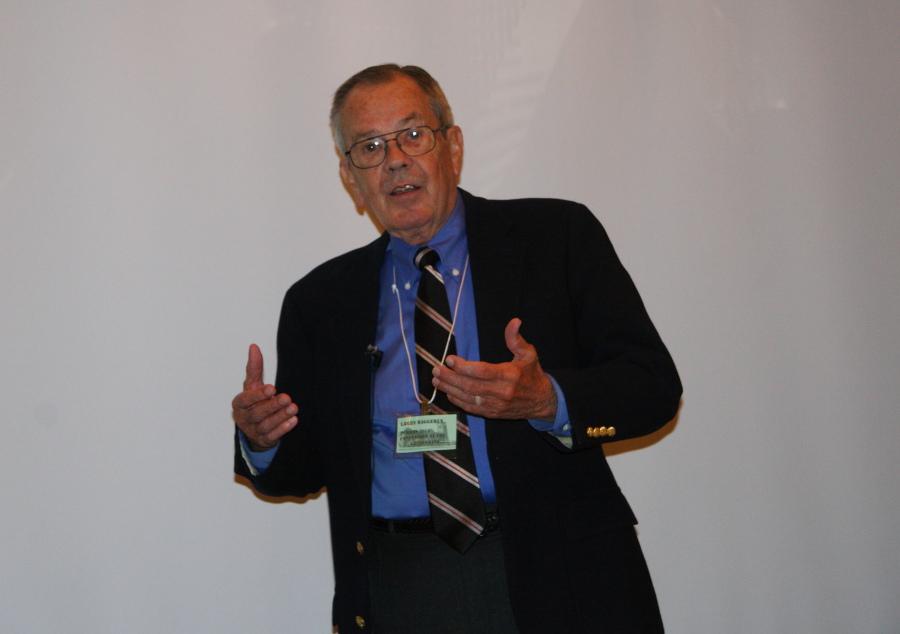 Banquet speaker Larry Baggerly