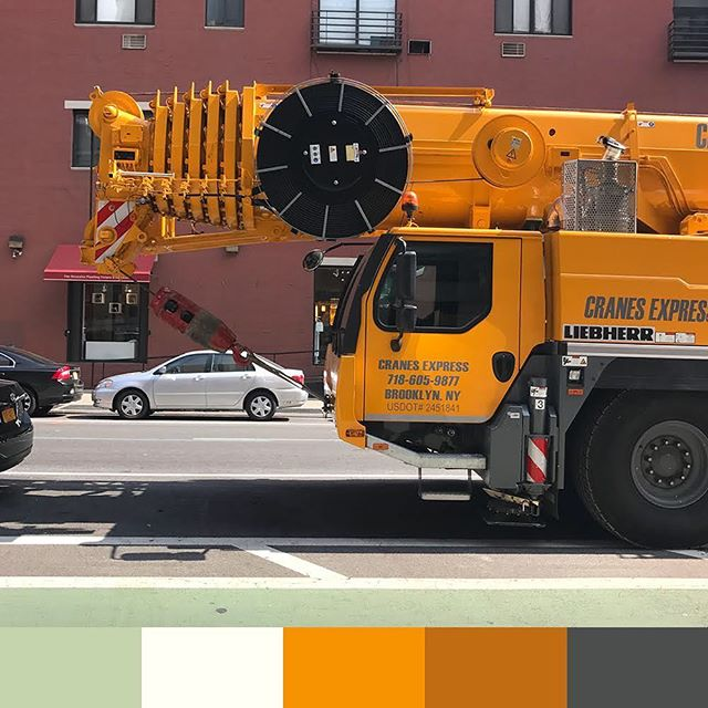 🚧 . . . . . . . . . . . #colorswatch #colorsofny #igcolors #ig_colors #ig_nyc #newyork #nyc #ny #colors #design #inspiration #swatch #colours #cores #bright #color #igersofnyc #ig_kids #instagood #instadaily #instaoftheday #iphonephotography #iphonephoto #construction #seeninnyc #👀 #follow #followme