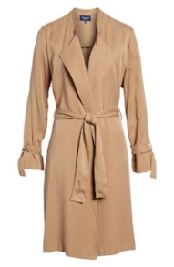Splendid Drape Trench Coat, $178