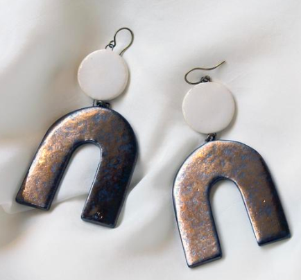 Image c/o Moon + Arrow; Avery Earrings