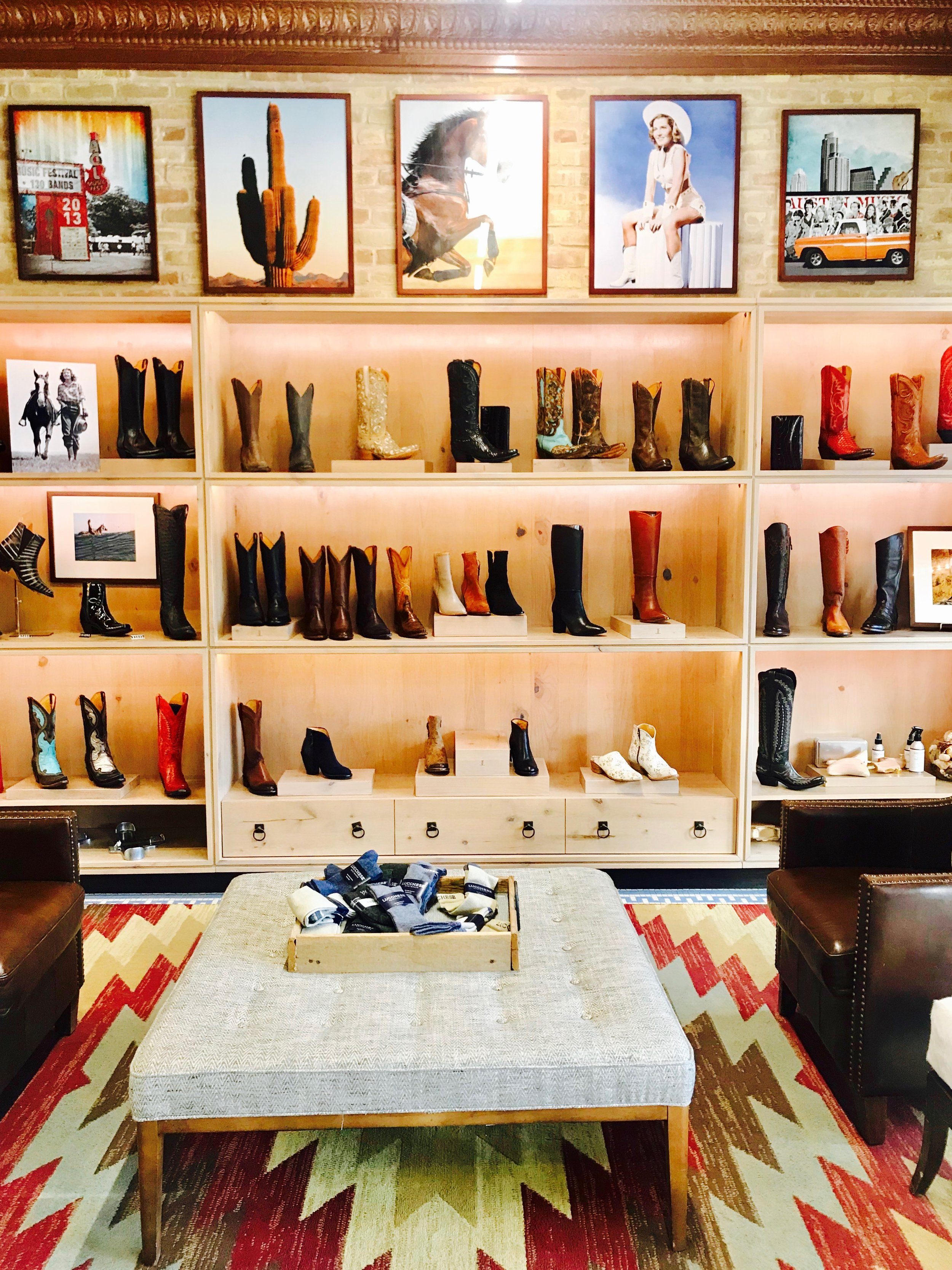 Lucchese at Allen's Boots