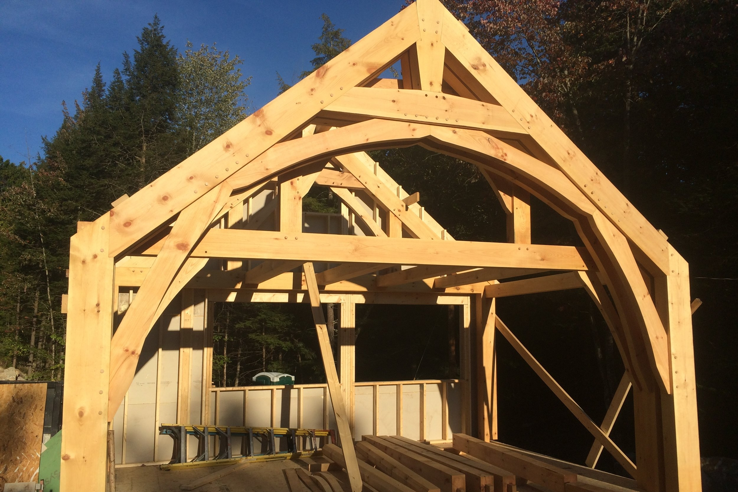 new home highland lake - lakefront builders of Maine.