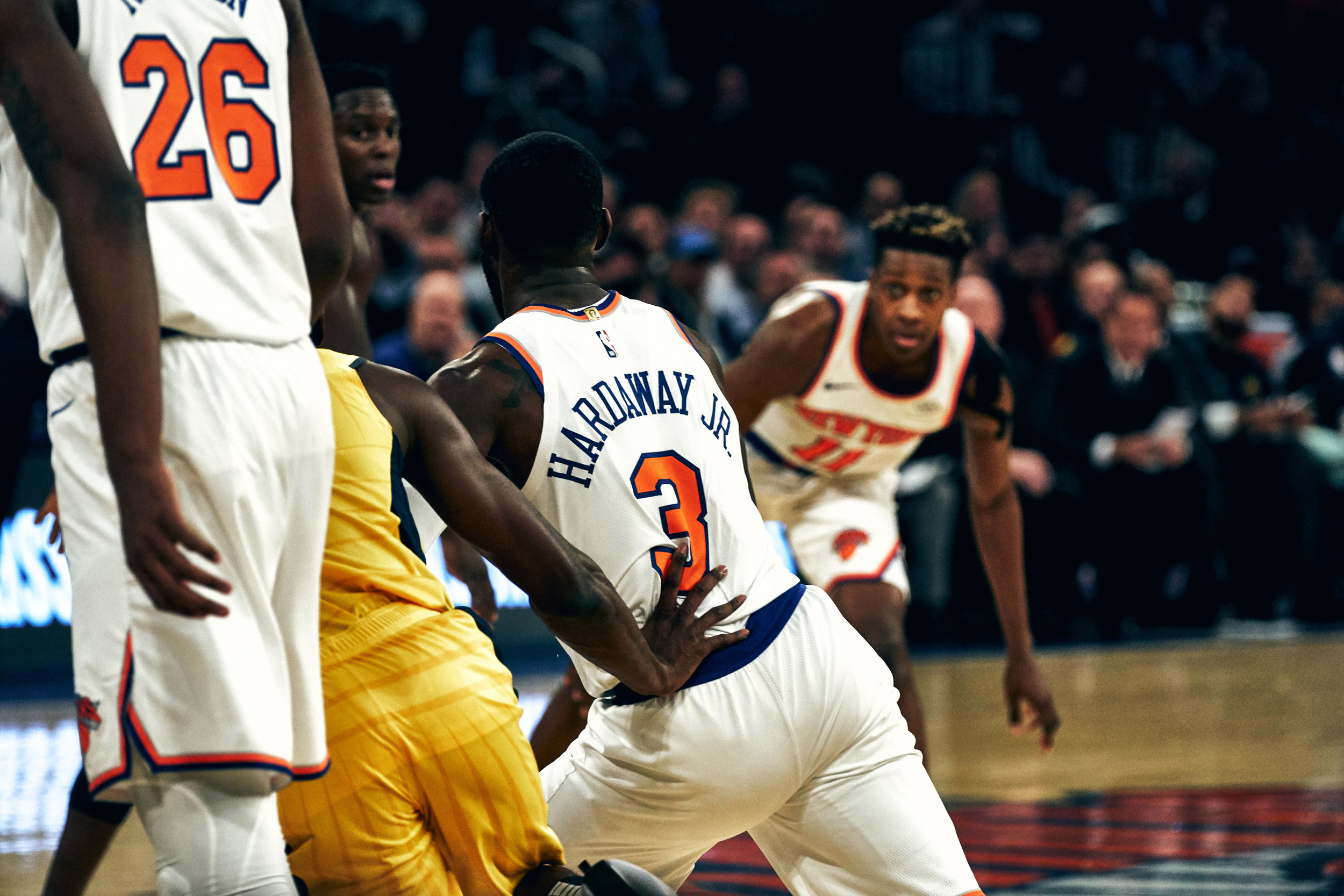 Indiana Pacers vs New York Knicks - October 31st, 2018