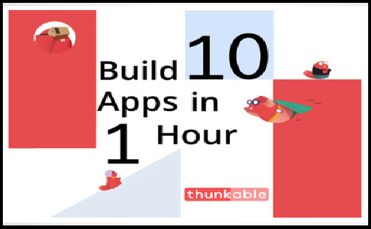 Use the language of Blocks and Learn how to Build 10 Simple Apps in 1 Hour.
