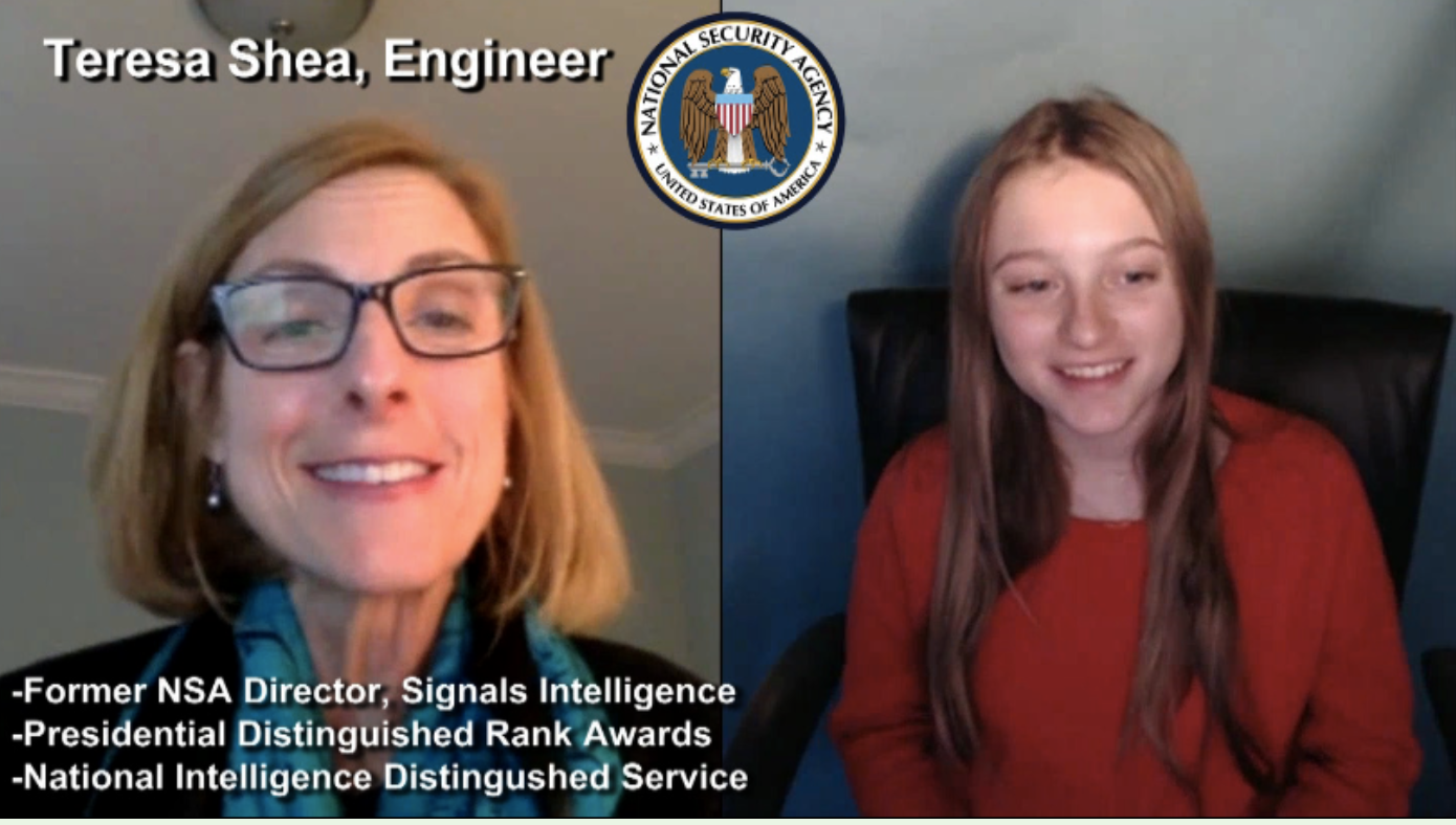 """BE INSPIRED"" by Engineer and former NSA Director Teresa Shea"