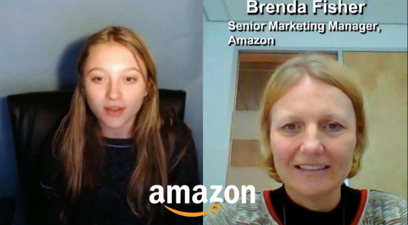 """BE INSPIRED"" by Amazon Senior Marketing Manager Brenda Fisher"