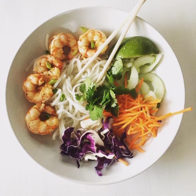 Thai Shrimp Noodle Bowl.JPG
