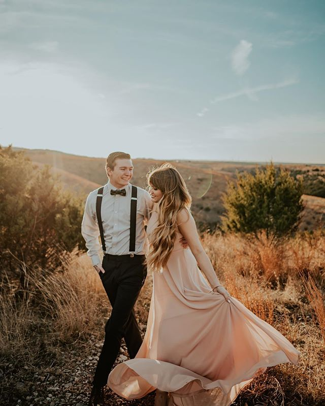 If they looked this good at their engagement session, can you imagine them on their wedding day? . . . . . . . . #belovedstories #authenticlovemag #junebugweddings #theknot #oklahomacityphotographer #oregonphotographer #heyheyhellomay #photobugcommunity #lookslikefilm #dirtybootsandmessyhair #elopementphotographer #oklahomaphotographer #elopementcollective #radlovestories #loveandwildhearts
