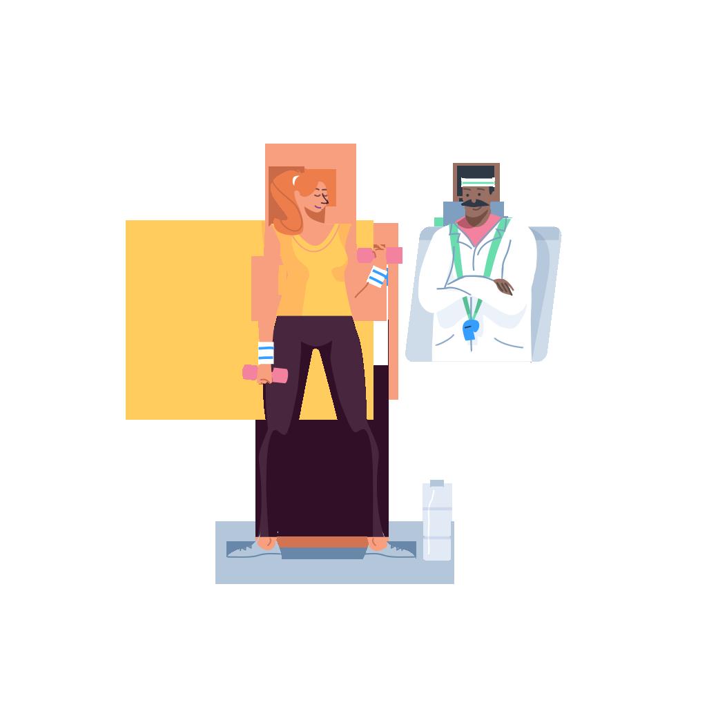 healthstar fitness illustration