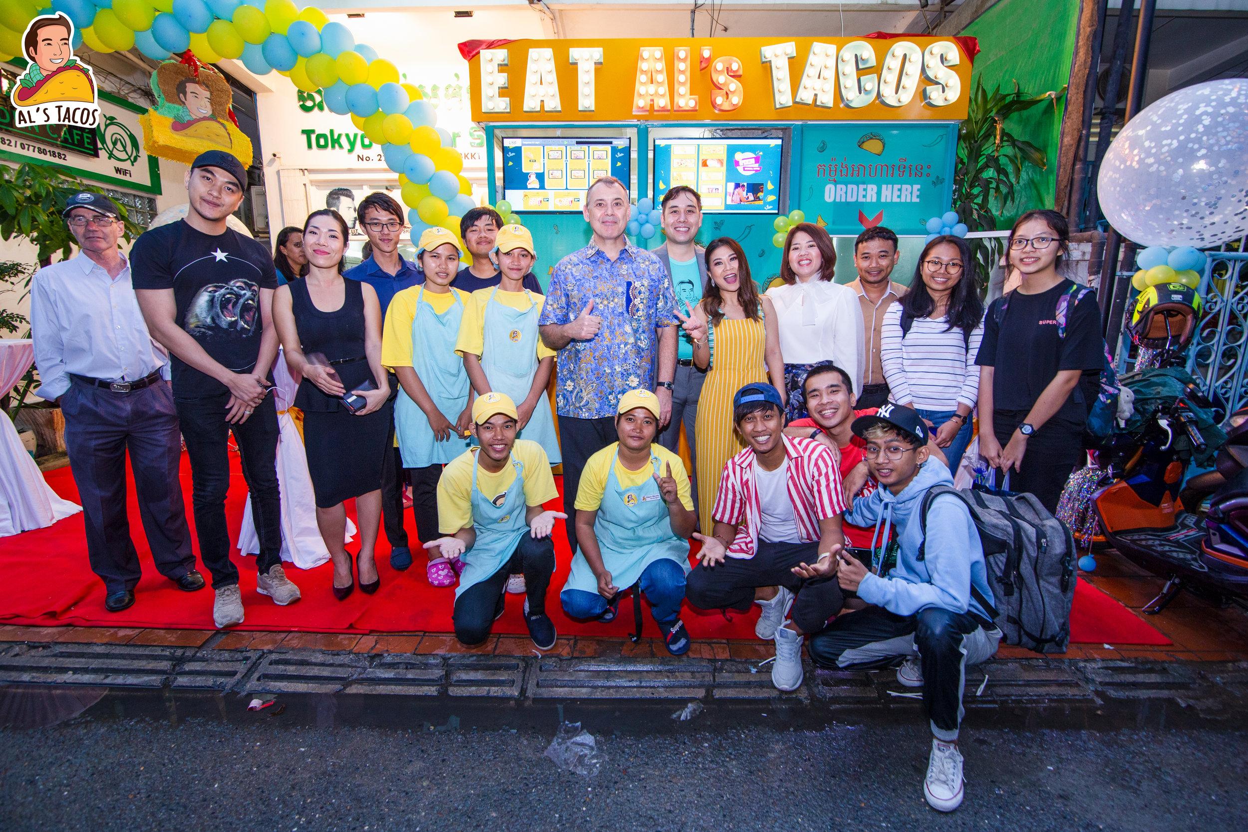 Opening of Al's Tacos BKK Branch