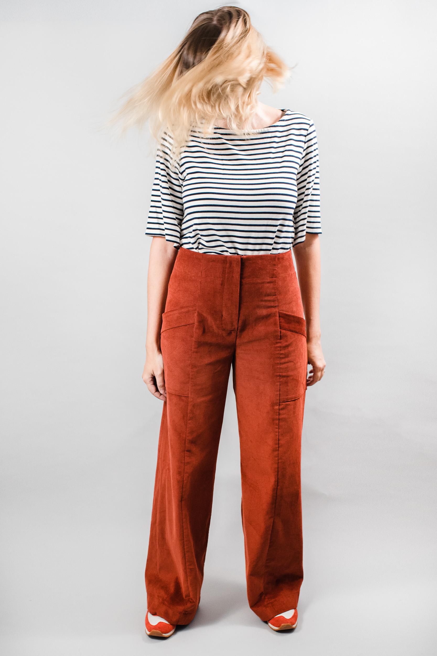 NEW PATTERN RELEASE - Parasol Trousers & Jumpsuit