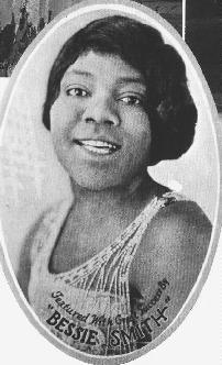 From an advertisement featuring Bessie Smith. ( Source )