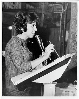 Judy Mage, who led the NYC Department of Welfare strike in 1965
